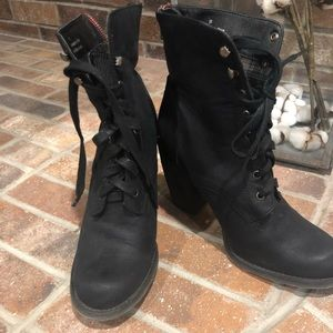 Rebels Leather boots